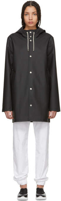 Stutterheim Black Stockholm Raincoat