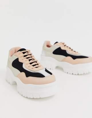 Asos Design DESIGN Dart chunky sneakers-Multi
