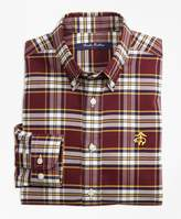 Brooks Brothers Non-Iron Supima Cotton Large Plaid Sport Shirt
