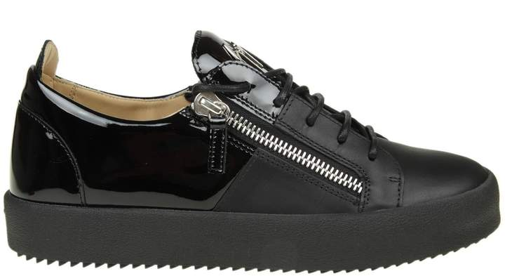 Giuseppe Zanotti Sneakers May London In Black Leather