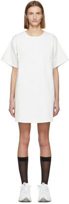 MM6 MAISON MARGIELA White Denim T-Shirt Dress
