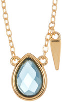 Melinda Maria Jacob London Blue Topaz Pendant Necklace