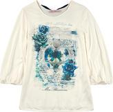 Miss Blumarine Viscose jersey T-shirt