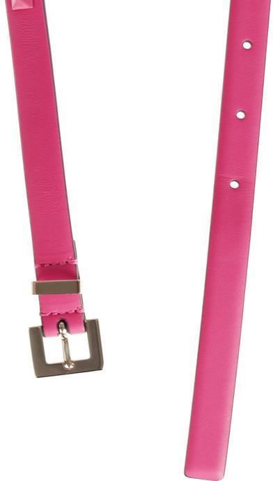 Valentino Pop Rockstud leather belt