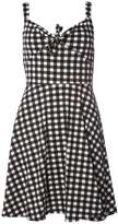 Dorothy Perkins Monochrome Gingham Tie Sundress
