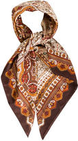 Halston Printed Woven Scarf