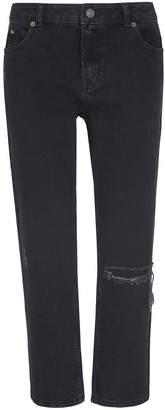 Whistles Distressed Straight Leg Jean