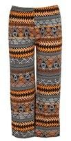 Chocolate Pickle Womens Aztec Print Wide Leg Palazzo Trousers