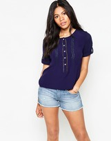 Deby Debo Vicomte Top with Broderie Detail