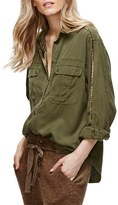 Free People Women's Off Campus Button Down Shirt