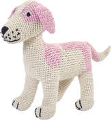 Anne Claire Crochet Jack Russell - Pink