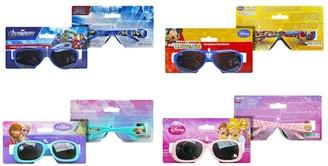 Disney Marvel Frozen Princess Mickey Mouse Boys And Girls Summer Sunglasses (Blue - Avengers)