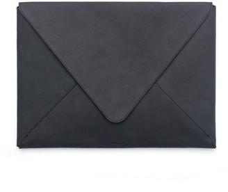 Russell + Hazel Leather Envelope Portfolio Black