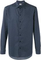 Armani Collezioni polka dots shirt