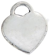 Tiffany & Co. 925 Sterling Silver NY Heart Charm Pendant