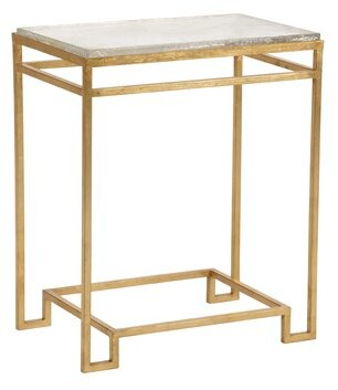 Chelsea House Seed Glass End Table