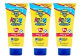 Banana Boat Kids Tear Free Sunscreen Lotion SPF 50, 10 Oz (Pack of 3)