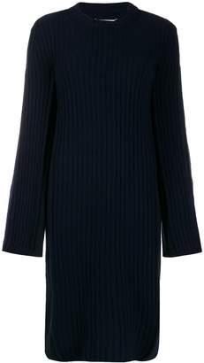 Maison Margiela ribbed detail jumper dress