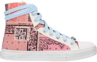 Amiri Bandana Patchwork Sunset Sneakers