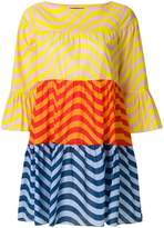 House of Holland colour block pleated dress