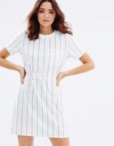 MinkPink Stripe Tee Dress