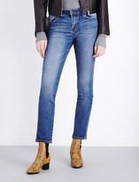 J Brand Amelia ankle grazer mid-rise jeans