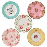 Royal Albert 100 Years 1950-1990 Five-Piece Plate Set