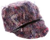 Eugenia Kim Belt-Accented Bouclé Hat