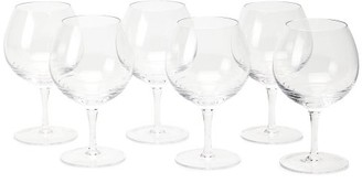 clear The Wolseley Collection - Set Of Six Bevelled Crystal Glasses