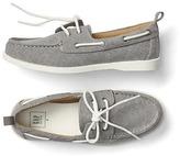 Gap Twill boat shoes