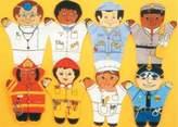 Dexter Community 8-pc. Puppet Set - Caucasian by Dexter Educational Toys
