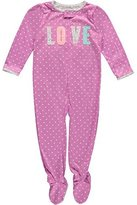 "Carter's Baby Girls' ""Dreams of Love"" Footed Pajamas"