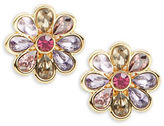 Carolee Spring Bouquet Floral Stud Earrings