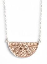 Anna Beck Women's Reversible Half Moon Pendant Necklace