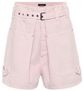 Isabel Marant Ike high-rise denim shorts