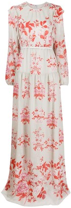 Giambattista Valli Floral-Print Maxi Dress
