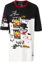Dolce & Gabbana prince doodle style print T-shirt