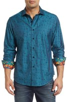 Robert Graham Classic Fit Doe a Deer Jacquard Sport Shirt