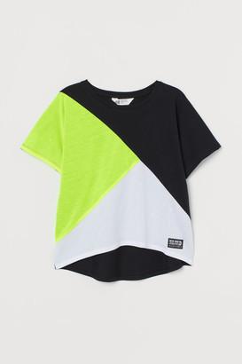 H&M Block-coloured top