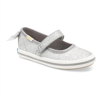 Keds X Kate Spade New York Sloane Mary Jane Crib Sneaker Silver Size 5