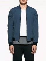Calvin Klein Platinum Matte Nylon Jacket