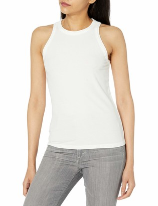 The Drop Valerie Halter Neck Rib Top Fashion-Shirts