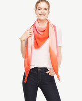 Ann Taylor Ombre Square Scarf
