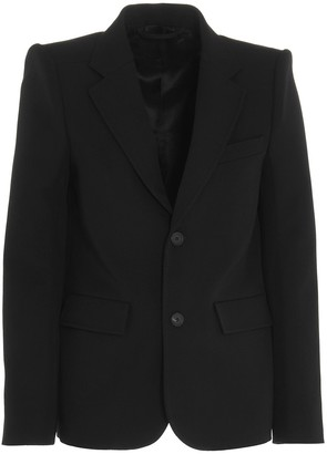 Balenciaga Curved Shoulder Blazer