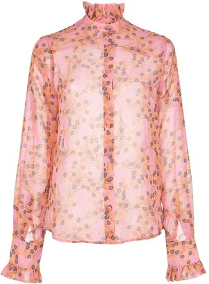 Alexis Indra long-sleeve top