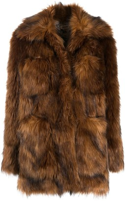 Zadig & Voltaire May faux-fur jacket