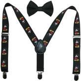 Disney Baby Boy's Mickey Mouse Bowtie & Suspender Set Accessory