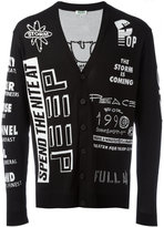 Kenzo intarsia cardigan - men - Cotton - M