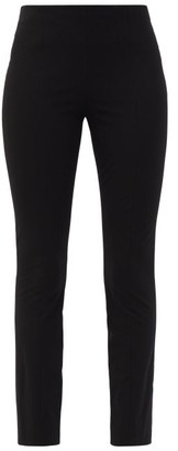 The Row Kosso Cropped Jersey Trousers - Black