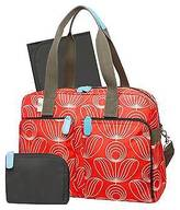 Orla Kiely Diaper Bag Tote - Red/White Stem Flower Print